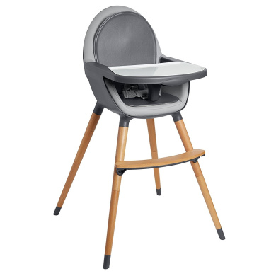Skip Hop Tuo Convertible High Chair Charcoal Grey by Skip Hop