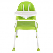 DOTASI 3 in 1 Baby High Chair Convertible Table Seat Booster Toddler Feeding Highchair