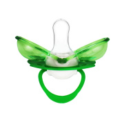 Panddy Soothie Pacifier, Green, 0-3 Months