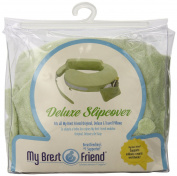Soft Baby Plush Fabric Slipcover in Green