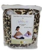 Extra Cover for San Diego Bebe TWIN Eco Nursing Pillow, Giraffe