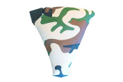 Papas Pillow - Cotton Camoflague Baby Pillow - Comfort Pillow - Supporting Pillow - Protection Pillow - Silicone Teether - baby support