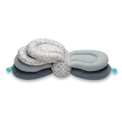 Hiltow Elevate Adjustable Nursing Pillow, Grey