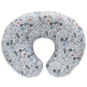 Boppy Nursing Pillow and Positioner, Black/White Doodles