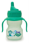 Baby Delight Bfree Soft Spout Happy Sippi Cup, Green
