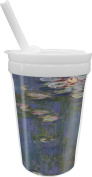 Water Lilies by Claude Monet Sippy Cup with Straw