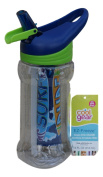 Cool Gear Paloma Printed 410ml Ez-freeze Water Bottle with Sipper Cap