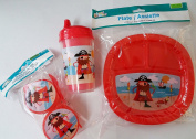 Red Pirate Dining Set