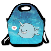 Unicorn Narwhal Lunch Box Tote Bag