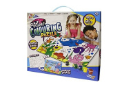 GRAFIX GIANT FLOOR COLOURING PUZZLE DOUBLE SIDED CHILDRENS KIDS CREATIVE TOY