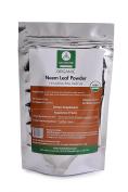 USDA Organic 240ml Neem Leaf Powder (Azadirachta Indica) by Naturevibe Botanicals