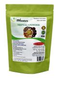 mi nature Triphala Powder / 100% Pure, Natural and Organic- (227g / (1/2 lb) / 240mls) - Resealable Zip Lock Pouch