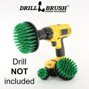 New Quick Change Shaft Power Rotary Cleaning Nylon Bristle Drill Scrub Brush by Drillbrush