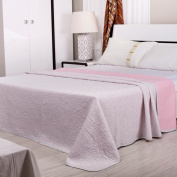 Towel Is Cotton Tianzhu Cotton Jacquard Double Towel Blanket Nap Blanket Air Conditioning Blanket,Pink