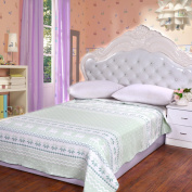 Cotton Towels Are Gauze Sheets Single Cotton Blankets Summer Blankets Blank Blankets,Green
