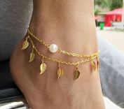 P2P@zita1 paid anklet bracelet women fashion beach foot chain girl love ankle bracelet on the leg jewellery