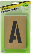Hy-Ko ST-4 Number & Letter Stencils Reusable, Water Resistant, 10cm