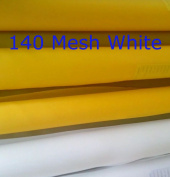 White 3 Yards 130cm (1.27m) Wide 140 Mesh(55T) Silk Screen Printing