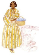 1840s to Early 1850s Everyday Round Dress Pattern