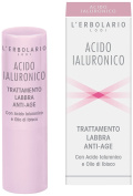 L'Erbolario Anti-Age Lip Treatment With Hyaluronic Acid and Hibiscus Oil 4,5ml acido ialuronico anti ageing Burrocacao