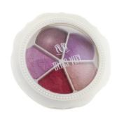 Matte Eyeshadow , Hunzed 5 colours Flower shaped Professional Cosmetic Eye Shadow Natural Matte Eyeshadow Palette Cosmetics Makeup