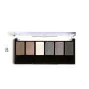 Matte Eyeshadow , Hunzed Women 6 Colours Retro Eyeshadow Palette Smoky Cosmetic Eye Shadow Powder Makeup Kit Charming