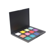 Matte Eyeshadow , Hunzed Women 12 Colours Eyeshadow Palette Pearl Matte Eye Shadow Combination Naked Smoky Eyeshadow Cosmetic Makeup