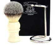 Shaving Brush with Stand Gift Set for Men