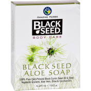 Black Seed Bar Soap - Aloe - 130ml -