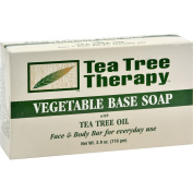 Tea Tree Therapy Vegetable Base Soap with Tea Tree Oil - 120ml -