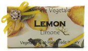 Alchimia Jewelled Lemon Vegetable Soap Handmade In Italy - 310ml Soap Bar