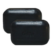 Soap Works - Soothing, Old Fashioned Recipe Bar Soap for Dry and Itchy Skin - Coal Tar, 2 Pack
