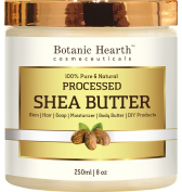 Shea Butter from Botanic Hearth, 100% Pure & Natural, Processed Premium Grade A, 240ml