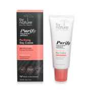 by nature from New Zealand Purifying Day Crème , Day Cream with Rice Protein / Green Tea Extract . Crema Dia
