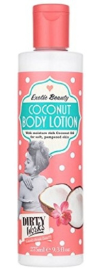 Dirty Works Coconut Body Lotion, 280ml