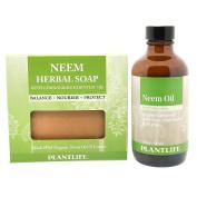 Neem Set - Neem Herbal Soap and Neem Oil