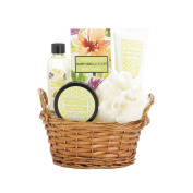 Spa Gift Basket For Women, Teen Home Bath Storage Basket For Mother Holiday
