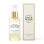 Mullein & Sparrow Organic Essential Oil Lemon Rose Face Wash 60ml
