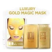 LINDSAY Luxury gold magic mask 5pcs set