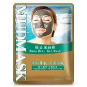 OVERMAL Mung Bean Mud Mask Unisex Skin Care Cosmetic Products Facial Acne Detox