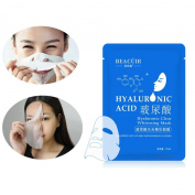 OVERMAL 2017 NEW Moisturising Hyaluronic Acid Facial Skin Care Face Mask Sheet Pack Essence