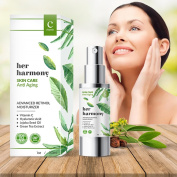 Anti Ageing Serum By Her Harmony With Active Ingredients- Hyaluranic Acid , Jojoba Oi, Green Tea Extract