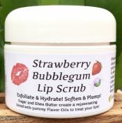 STRAWBERRY BUBBLEGUM Lip Scrub !