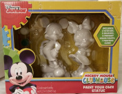 Disney Junior Mickey Mouse ClubHouse Paint Your Own Statues