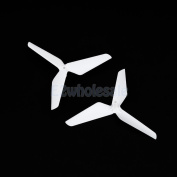 2pcs White Propellers Prop Replacement Parts Blades for Syma X5C X5SW