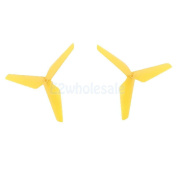 Durable Blade Propeller Props for Syma X5C JJRC H5C RC Quadcopters Yellow
