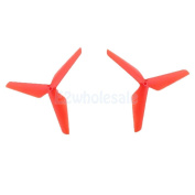Durable Blade Propeller Props for Syma X5C JJRC H5C RC Quadcopters Red