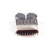 Onboard Lipo Alarm Battery Checker Low Voltage Detector for RC Plane Quadcopter