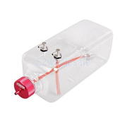 1pcsTransparent Fuel Tank with Metal Cap for Gas Plane Aircraft Rc 1000ML