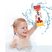 Smartcoco Toddler Kid Baby Plastic Bath Swim Toy Water Whirly Wand Cup Beach Toy Kids/Children Gifts, Funny Cup to Accompany Baby when Bathing, Train Baby's Observational Ability